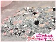 &棒棒糖氣球館& 25mm 平底圓形水鑽-2個/壓克力水鑽/貼鑽(婚禮小物/手工藝資材) 珠寶捧花