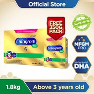 Enfagrow A+ Four Powdered Milk Drink for 3+ Years Old 1.8kg with FREE 350g