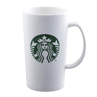 星巴克 SIREN馬克杯 16OZ 白品牌 霧面馬克杯  , 女神經典白色馬克杯 , 泰國製造, 台灣公司貨