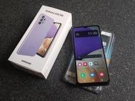 三星Galaxy A32 5G (6G/128G高配版) 紫色 二手 保固中 已貼玻璃貼 附空壓殼