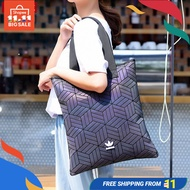 Adidas Tote Bag Handbag Originals Diamonds Issey Miyake Unisex Travel Casual Bag 【ulzzang】