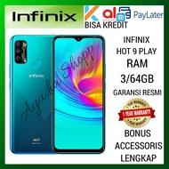 INFINIX HOT 9 PLAY RAM 3/64GB GARANSI RESMI