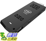 [106美國直購] Intel Ultra-Slim PC Compute Stick, Intel Atom, 1.33 GHz, Ubuntu 14.04 LTS 64 Bit, Black