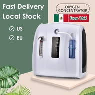 [Ready stock+100% Original] 1L-6L Adjustable Oxygen Concentrator Machine Portable Oxygen Machine for Home and Travel Use Without Battery