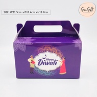 Deepavali Diwali Box Suitable for Cookies or Gift Box (Ready Stock)