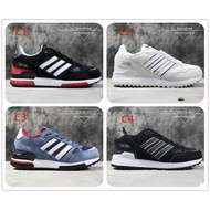 Original Adidas ZX750 Running Shoes Men Women ZX 750 Sport Sneakers Black Red