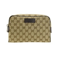 GUCCI ORIGINAL GG BELT BAG (BEIGE/EBONY)
