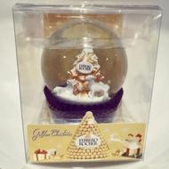 2019金莎水晶球 金莎巧克力 聖誕禮物 金莎 水晶球