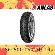 【尚銳精品】Anlas 安娜斯 輪胎 SC-500 150-70-14