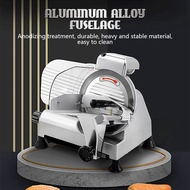 Commercial semi-automatic meat slicer frozen meat fat beef and mutton roll slicer mutton roll slicer household electric small frozen meat fat beef meat slicer