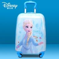 ดิสนีย์แช่แข็ง2ของเด็ก16-กระเป๋าเดินทางขนาดนิ้ว18นิ้ว Elsa เจ้าหญิงรถเข็นกล่อง20กระเป๋าเดินทางกินนอน