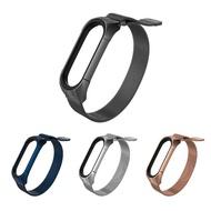 【mijobs】小米手環 5/小米手環 6 米蘭磁吸腕帶(TF)