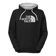美國百分百【The North Face】帽T 連帽 TNF T恤 北臉 長袖 厚綿 黑色 白標 S M號 B955