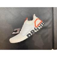 Adidas UltraBOOST 19 DB 白 粉紅 LOGO 愛迪達 貝克漢 FW1970