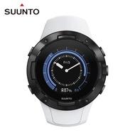 【SUUNTO】Suunto 5 堅固輕巧質精、絕佳電池續航力的多項目運動GPS腕錶(經典白)