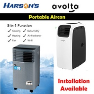 Harsons / Avolta Portable Aircon 9000-14000BTU
