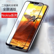 Nokia 8.1 X71 7.2 4.2滿版6.1 5.1 Plus玻璃保護貼3.1玻璃貼Nokia8.1
