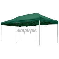 10x20ft Up Canopy Top Replacement Tent Patio Gazebo Canopy 420D Sun Shade