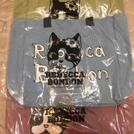 💕Rebecca bonbon 日本狗頭包-帆布購物袋