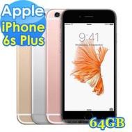 全新 iPhone 6s Plus 64G 手機 , 未拆封台灣原裝貨 , 空機價 , 不綁門號 , 純賣空機