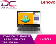 LENOVO S530-13IWL 81J70049SB 13.3 IN INTEL CORE I5-8265U 8GB 512GB SSD WIN 10