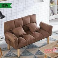 雙人沙發 懶人沙發榻榻米雙人臥室網紅款小沙發陽臺小戶型租房沙發椅沙發床T 多色