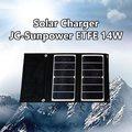 【JC 嘉權】Sunpower ETFE 14W 太陽能充電器 輕量化280g (4A-JC-14W-X2)