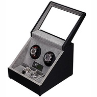 (KAIHE-BOX) KAIHE-BOX Classic Watch Winders for 2+4 Watches for automatic Watch Winder Rotator Ca...