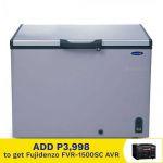 Fujidenzo FCG90PDF Silver 9 cu.ft, Chest Freezer, Dual Function
