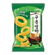 韓國零食 海太 Calbee 烤洋蔥圈餅乾 70g