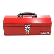 正品二手微瑕疵現貨14FW Supreme Metal Toolbox金屬工具箱鐵箱收納盒