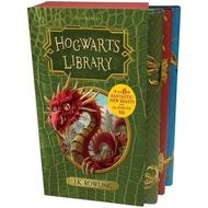 Asia Books หนังสือภาษาอังกฤษ HOGWARTS LIBRARY BOX SET, THE (3 BOOKS) คุณภาพดี