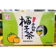Costco好市多代購 韓味不二水果茶飲組 生黃金柚子茶(果醬)1000g*2入 #94941 韓國柚子茶