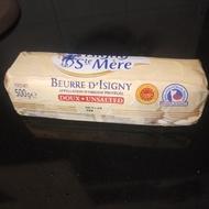 法國 依思尼 ISIGNY AOP無鹽發酵奶油條 500公克