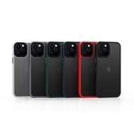 Iphone 12 Pro Max 12 Mini Tpu+pc Matte Frosted Case Cover Shelliphone 12 Pro Max 12 Mini Tpu+pc