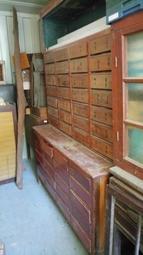 檜木中藥櫃