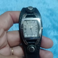 Fossil Leather Watch For Women
