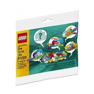 【紅磚屋】樂高 LEGO 30545 Fish Free Builds 創意小魚 Polybag <全新未拆/現貨>