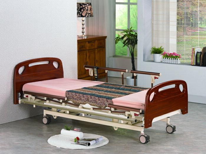 【康元】三馬達護理床。日式醫療電動床B-650
