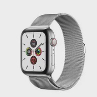 APPLE Watch Series 5 GPS+Cellular (40mm, Stainless Steel Case, Silver Milanese Loop Band)