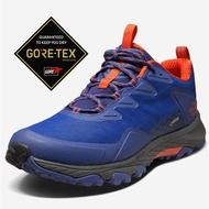 【美國 The North Face】女款 Gore-Tex 防水透氣耐磨輕量登山鞋/UltrATAC橡膠外底/39IS 藍 V