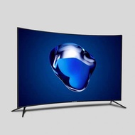 TV 75 inch curved screen 4K smart 65 inch 60/55/70 inch smart ultra clear voice