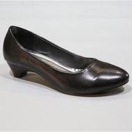 รองเท้า 696-1,1A,1B,F1,F1A,F1B คัชชูส้นสูง สีดำ นักศึกษา 1 นิ้ว FAIRY