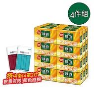 綠的GREEN 藥皂-消毒殺菌味 80g*6入 共四組 (乙類成藥)+CSD中衛 時尚口罩 (2片/包)