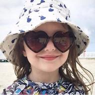兒童愛心防紫外線太陽眼鏡 墨鏡 預購
