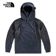 The North Face北面男款深藍色拼接撞色連帽上衣 49CIH2G