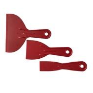 3pcs Easy Clean Hand Tools Job Done Spatula Putty Spreader Filler Small Large Scraper Set