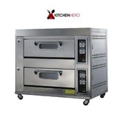 2 Deck Gas Oven Commercial (6 months warranty)