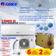 New Gree 1HP / 1.5HP / 2HP Golden Fin Air Conditioner Include Professional Aircond Installation in Covered Area