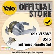 Yale VL5387 US15 Entrance Lockset